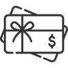 Merchant solutions - Beyond payments icon - Gift card